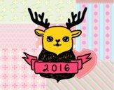 Rena de véspera de Ano Novo