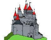 Desenho Castelo medieval pintado por nicholas14