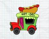 Food truck de Cachorro-quente