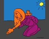Mãe e filho Itzianos