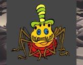 Aranha com chapéu
