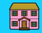 Casa con dois pavimenti