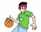 Junior jogador de basquete