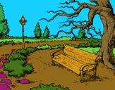 Desenho Paisagem da parque pintado por Celia50