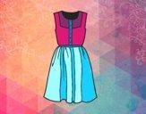 Vestido do verão