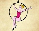 Mulher trapezista