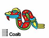 Os dias astecas: serpente Coatl