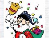 Santa Claus e o seu sino