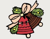 Desenho Sinos de natal pintado por tyanca