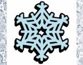 Desenho Copo de neve pintado por jessica99