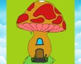 Casa cogumelo