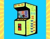 Desenho Arcade pintado por iyacfox1