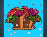 Cesta de flores 9