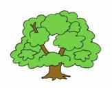 Desenho Árvore pintado por brebeca