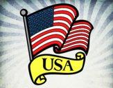 Desenho Bandeira dos Estados Unidos pintado por arthurfer