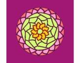 Desenho Mandala 1 pintado por Dhayanna