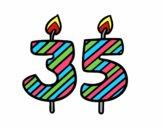 35 anos