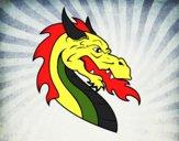 Cabeça de dragão europeu
