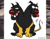 Cão de duacabeças