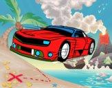 Carro desportivo veloz