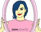 Desenho Demi Lovato Popstar pintado por HASTINGS