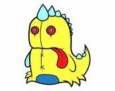 Dinossauro monstruoso