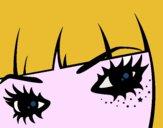 Desenho Emo olhos pintado por HASTINGS