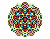 Mandala pétalas de flores