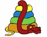 Serpente grande