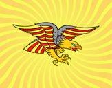 Tatuagem de águia