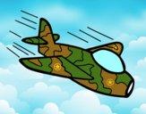 Desenho Avião da camuflagem pintado por Danievi