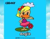 Desenho Angie pintado por Guiguinha9