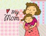 Desenho I love my mom pintado por duda000