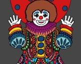 Desenho Palhaço disfarçado pintado por MILHANI
