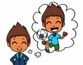 Ser um jogador de futebol