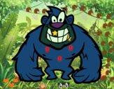 Gorila peludo