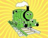 Percy a locomotiva pequena
