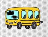 Um ônibus escolar