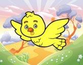 Um pássaro