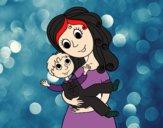 Mãe com seu filho