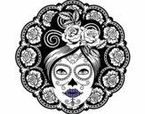 Caveira mexicana feminina