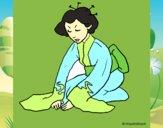 Geisha a saudar