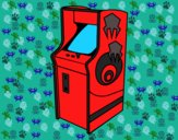 Desenho Máquina arcade pintado por Jujuli