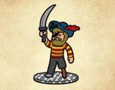 Brinquedo de pirata