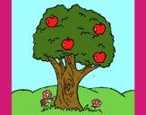 Desenho Macieira  pintado por florbelinh
