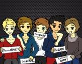 Os meninos do One Direction