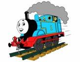 Desenho Thomas a locomotiva 1 pintado por ameireles