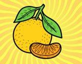 Uma tangerina