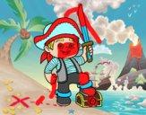 Um menino do pirata