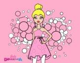 Barbie Princesa cor de rosa